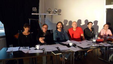 Das Jurorenteam (von links nach rechts): Eva-Maria Lerchenberg-Thöny, Michael Lerchenberg, Jörg Gerlach, Hardy Rudolz, Vanni Viscusi, Christian Stadlhofer